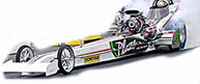Read the story... High Speed Motorsports Nostalgia Top Fuel Dragster