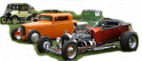 Classic Cars, Deuce Coupes, Rods